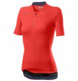 Castelli Fietsshirt women anima 3 jersey bright pink steel blue