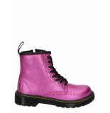 Dr. Martens 1460 reptile embossed pink