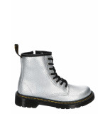 Dr. Martens 1460 reptile embossed silver