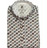 Desoto Shirt korte mouwen wit
