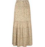 Tramontana Skirt print greens