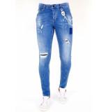 Local Fanatic Jeans met verfspatten 1031