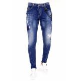 Local Fanatic Jeans met verfspetters 1026