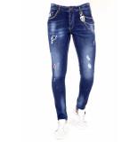 Local Fanatic Jeans met studs 1025