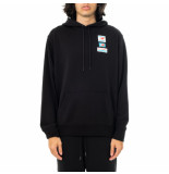 New Balance Felpa uomo essentials field day hoodie mt11514bk