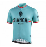 Bianchi Milano Fietsshirt men isalle celeste