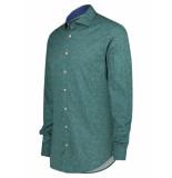 Companeros Overhemd knit blue green
