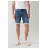 New-Star Korte spijkerbroek valero stonewash