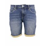Noize Korte spijkerbroek 033 indigo
