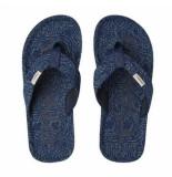 O'Neill Slipper men chad fabric sandals blue print