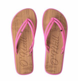 O'Neill Slipper women ditsy sandals rosa shocking