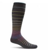 Sockwell Compressiekousen circulator sw1w black stripes dames