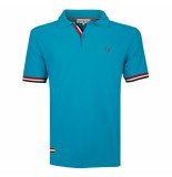 Q1905 Polo shirt matchplay donker turquoise