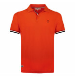 Q1905 Polo shirt matchplay oranje rood