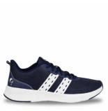 Q1905 Sneaker oostduin donkerblauw/wit/wit