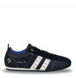 Q1905 Sneaker typhoon sp donkerblauw/wit