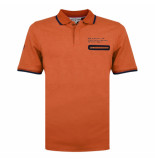 Q1905 Polo shirt zomerland roest