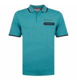 Q1905 Polo shirt zomerland aqua