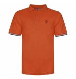 Q1905 Polo shirt bloemendaal roest