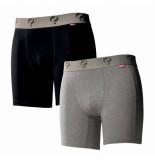Q1905 Boxer 2-pack black / grey