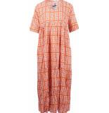 Genesis Iluh jurk oranje