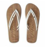O'Neill Slipper women ditsy sandals powder white