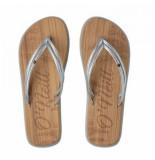 O'Neill Slipper women ditsy sandals silver