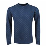 Twinlife heren sweater ronde hals -