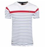 Twinlife heren t-shirt gestreept -