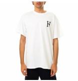 HUF T-shirt uomo essentials classic hs/s tee white 71121mc000088e.white