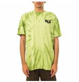 HUF T-shirt uomo haze brush tie dye s/s tee.lime 71121mc000054h.lime