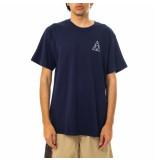 HUF T-shirt uomo essentials tt s/s tee navy 71121mc000085e.navy