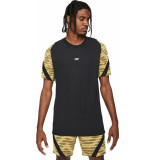 Nike T-shirt dri-fit strike top black saturn gold
