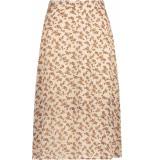 Aaiko Terima skirt brown fower printed