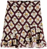 Maison Scotch Printed skirt combo b