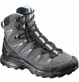 Salomon Wandelschoen x ultra trek gtx® w dark cloud black cristal grijs