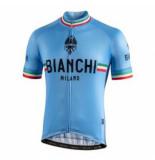 Bianchi Milano Fietsshirt men isalle celeste blue