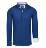 Enrico Polo overhemd donker
