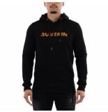 Sustain Flame logo regular hoodie