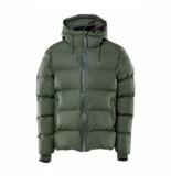 Rains Regenjas puffer jacket green