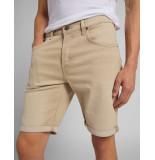 Lee 5 pocket short regular l73enrux faded beige