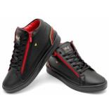 Cash Money Sneaker cesar black red