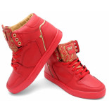 Cash Money Sneakers majesty red gold 2
