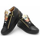 Cash Money Sneaker prince black white