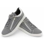 Cash Money Sneakers reflect grey white