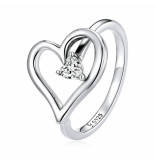 Mijn bedels Sterling ring wens