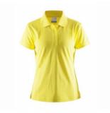 Craft Polo women classic pique yellow