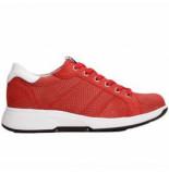 Xsensible Sneaker stretchwalker women toulouse 30205.2 red lizzard