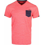 Gabbiano T-shirt coral