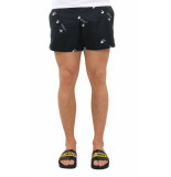 Off White Ow allover swimshorts black wh